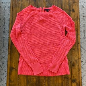 Women's American Eagle Hot Pink Boat Neck Sweater